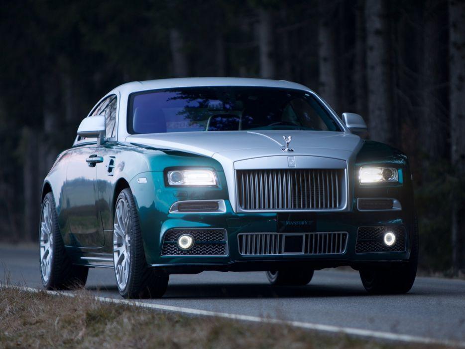 2014 Mansory Rolls Royce Wraith luxury tuning  t wallpaper