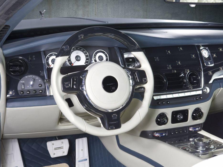 2014 Mansory Rolls Royce Wraith luxury tuning interior     g wallpaper
