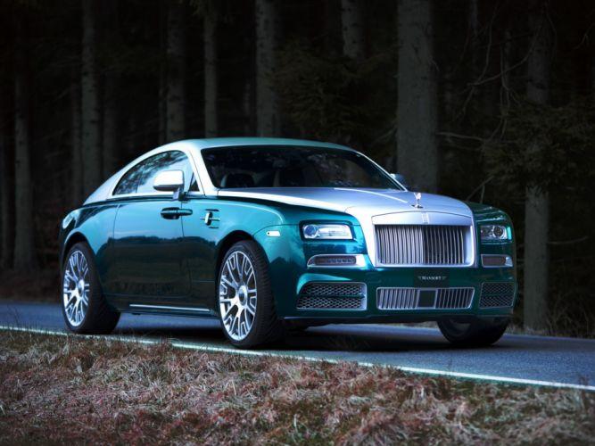 2014 Mansory Rolls Royce Wraith luxury tuning g wallpaper