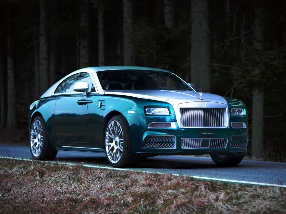 2014 Mansory Rolls Royce Wraith luxury tuning         g wallpaper