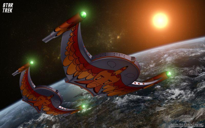 Star Trek Romulan Bird Of Prey 2011 freecomputerdesktopwallpaper 1680 wallpaper