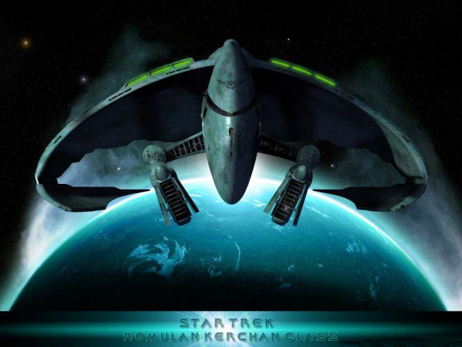 Star Trek Romulan kerchan Class freecomputerdesktopwallpaper 1600 wallpaper