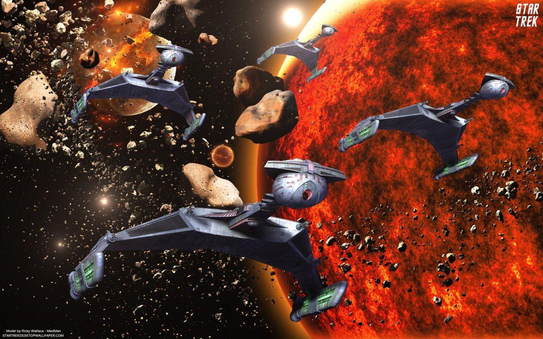 Star Trek On The Prowl Klingon D7 Battlecruisers freecomputerdesktopwallpaper 1680 wallpaper