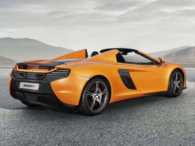 2014 McLaren 650S Spyder uk-spec supercar h wallpaper