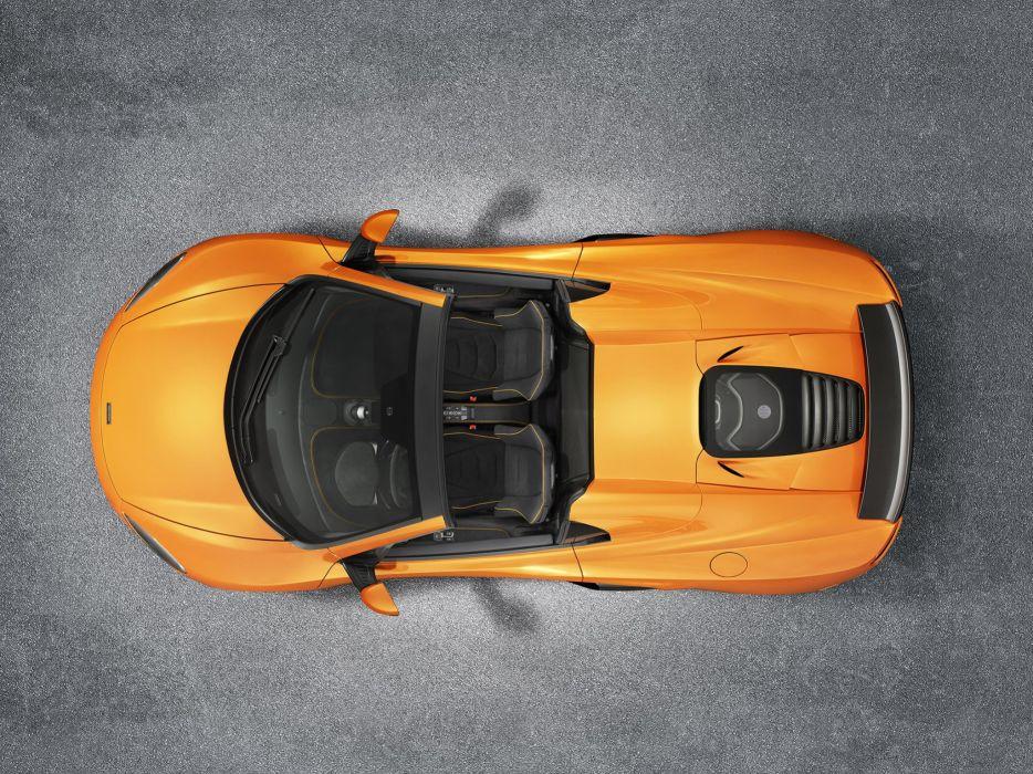 2014 McLaren 650S Spyder uk-spec supercar interior    g wallpaper