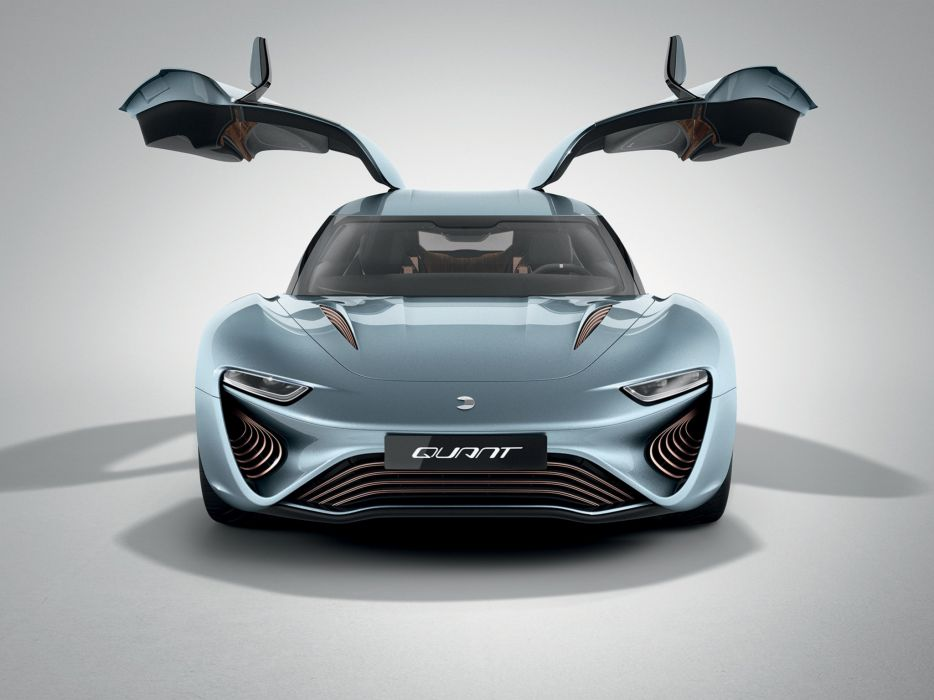 2014 NanoFlowcell QUANT e-Sportlimousine supercar  h wallpaper