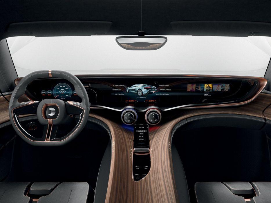 2014 NanoFlowcell QUANT e-Sportlimousine supercar interior  g wallpaper