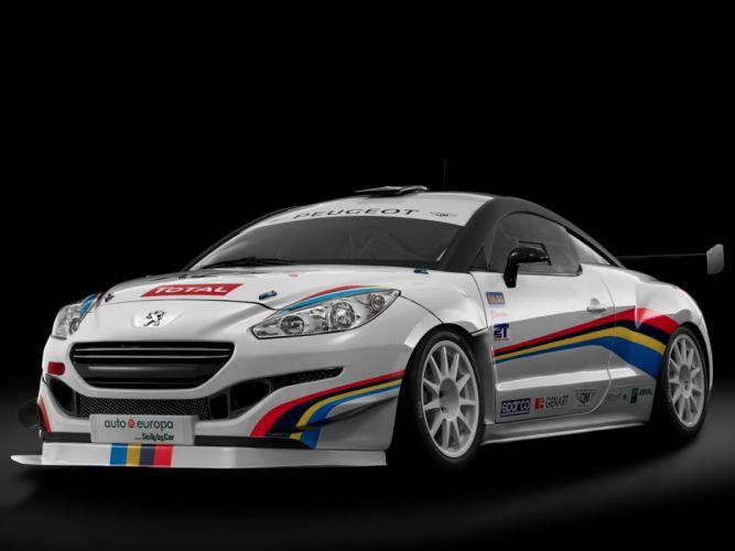 2014 Peugeot RCZ R Racing race gtp h wallpaper