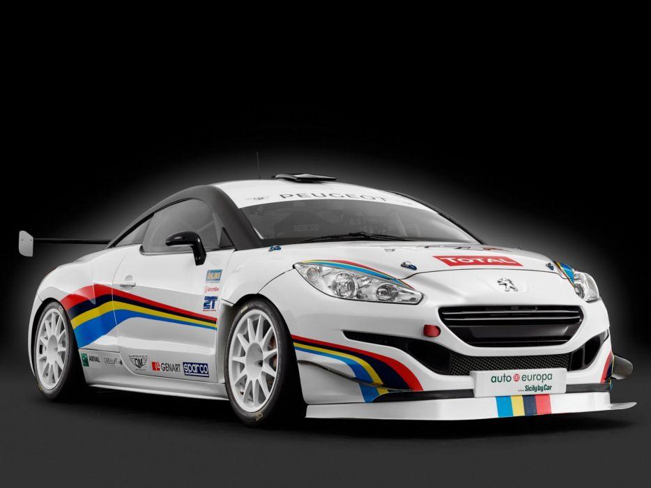 2014 Peugeot RCZ R Racing race gtp       g wallpaper