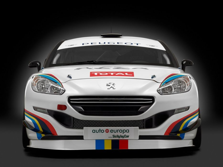 2014 Peugeot RCZ R Racing race gtp   gh wallpaper