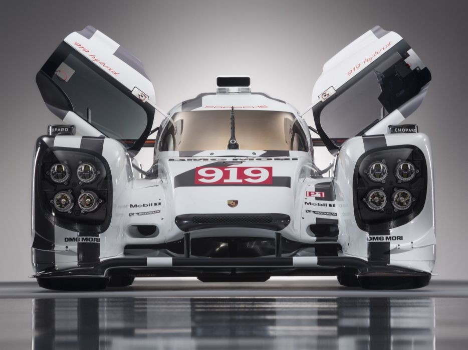 2014 Porsche 919 Hybrid le-mans prototype race racing   f wallpaper