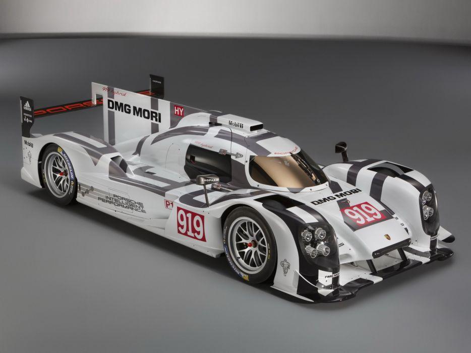 2014 Porsche 919 Hybrid le-mans prototype race racing   h wallpaper