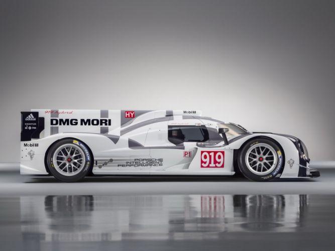 2014 Porsche 919 Hybrid le-mans prototype race racing f wallpaper