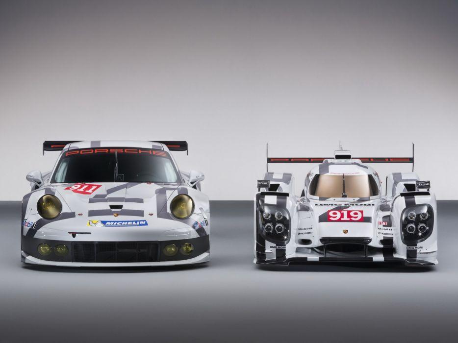 2014 Porsche race racing rsr le-mans    g wallpaper