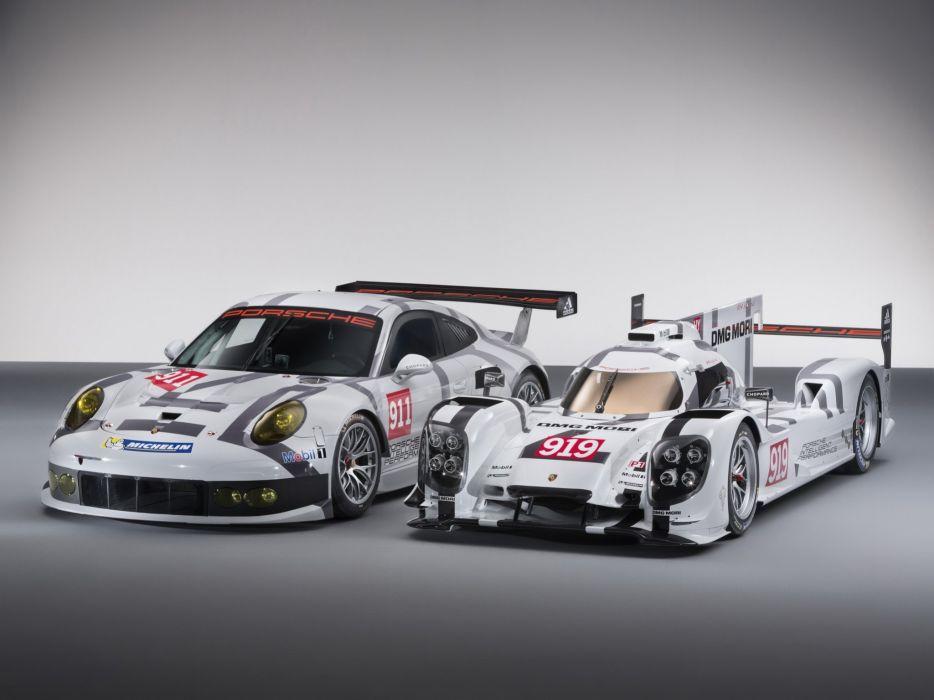 2014 Porsche race racing rsr le-mans wallpaper