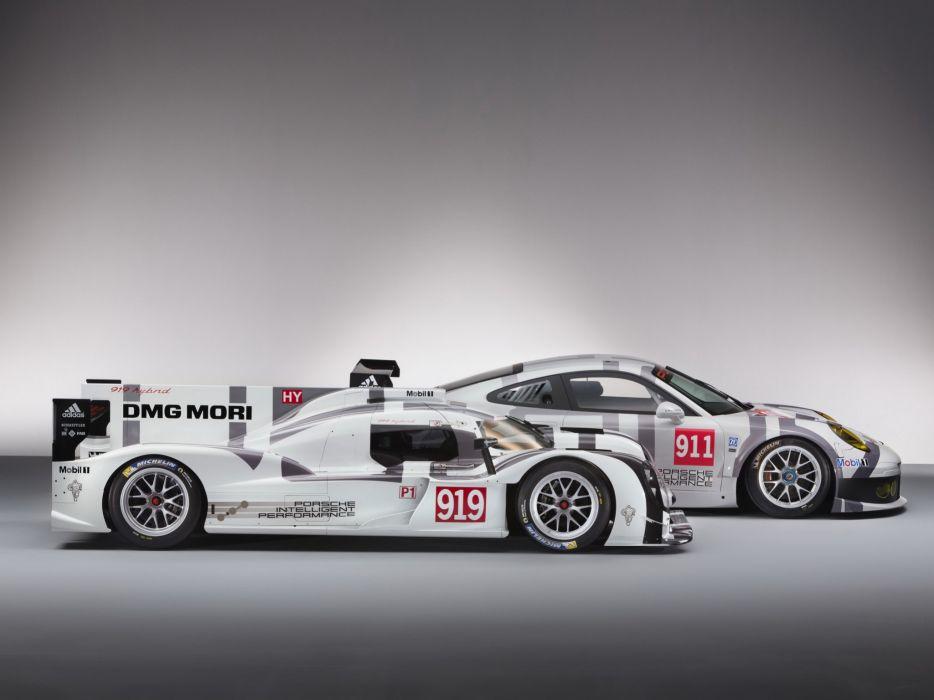 2014 Porsche race racing rsr le-mans  gg wallpaper