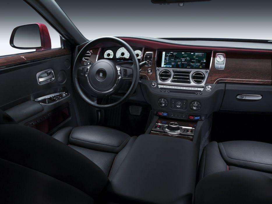 2014 Rolls Royce Ghost luxury interior    f wallpaper