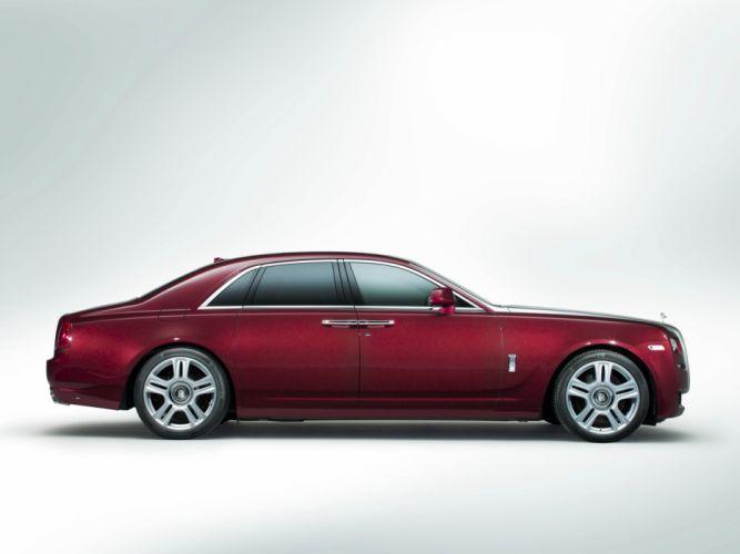 2014 Rolls Royce Ghost luxury g wallpaper
