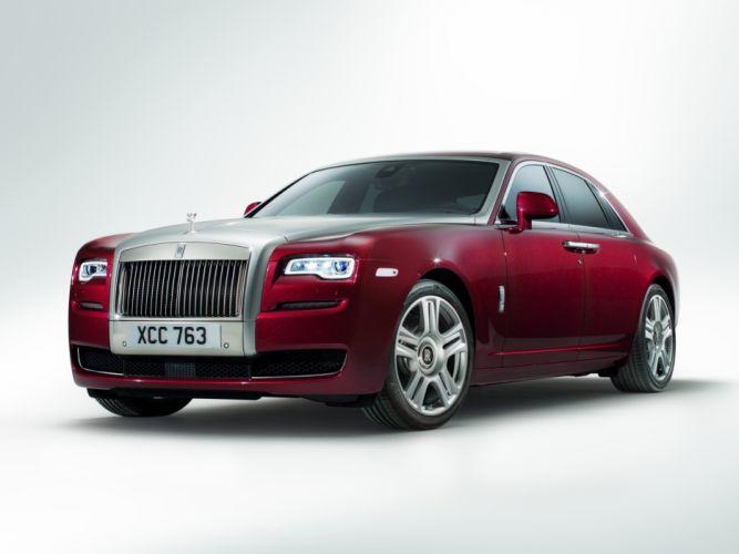 2014 Rolls Royce Ghost luxury d wallpaper