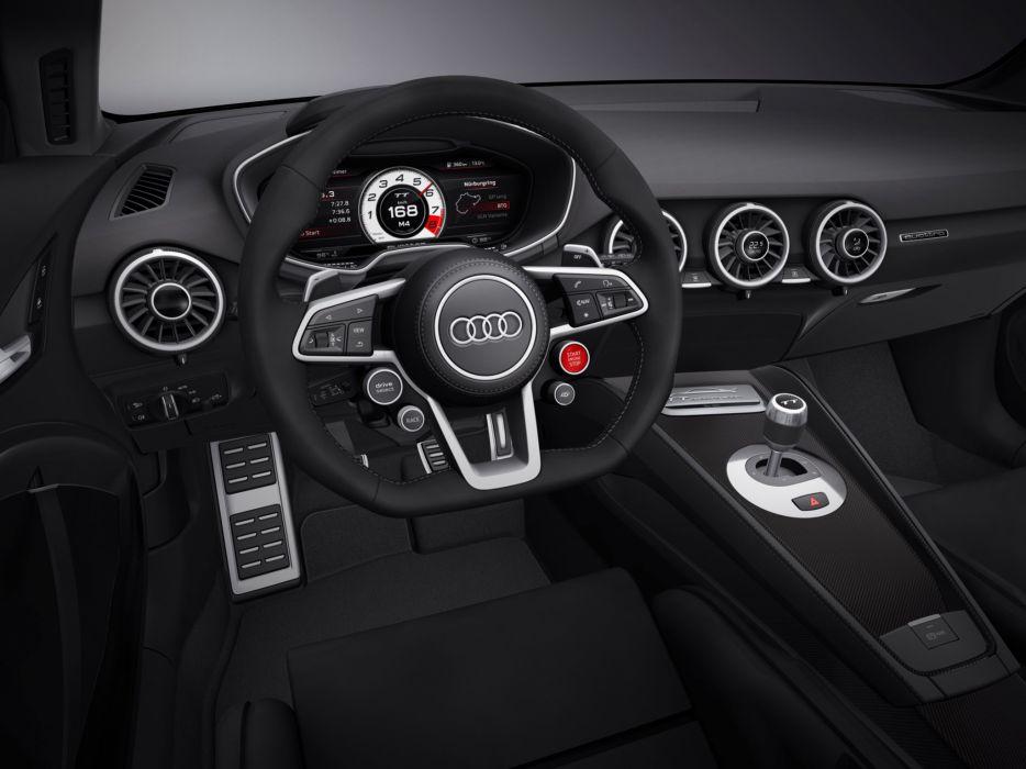 2015 Audi T-T quattro sport concept interior    f wallpaper