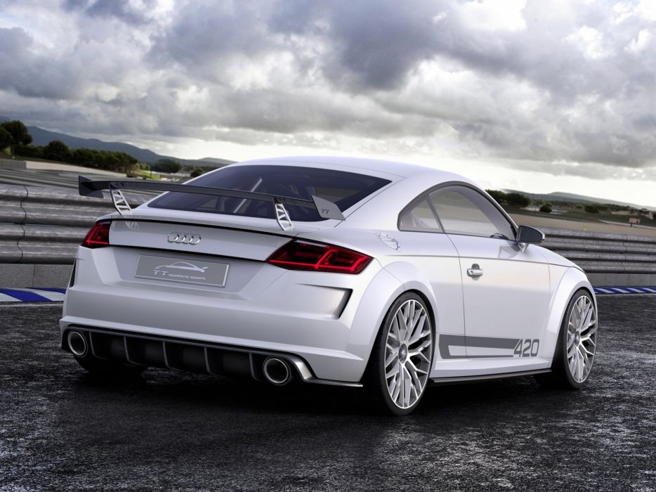 2015 Audi T-T quattro sport concept   f wallpaper