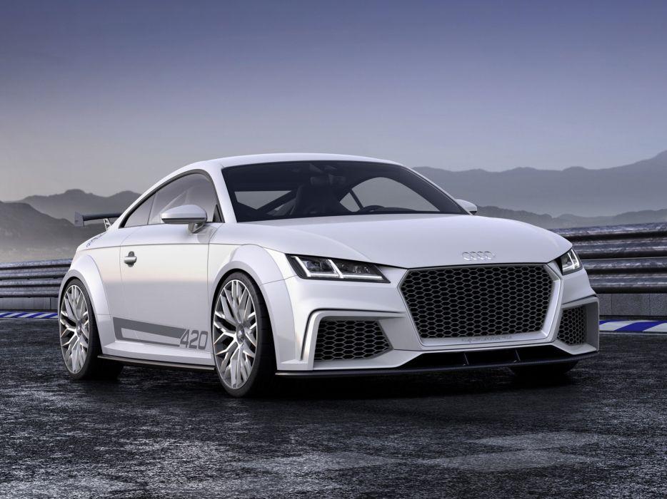 2015 Audi T-T quattro sport concept  d wallpaper