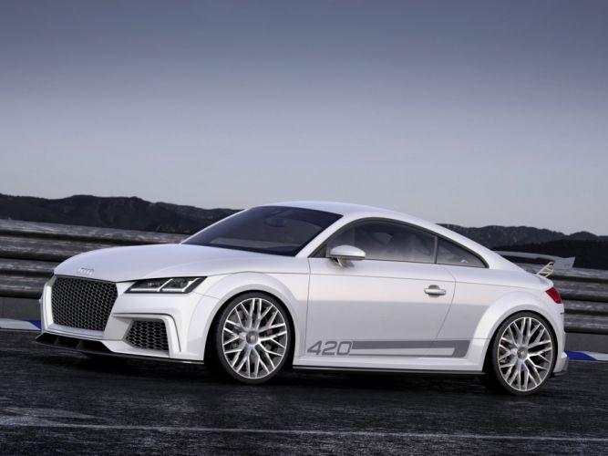 2015 Audi T-T quattro sport concept g wallpaper