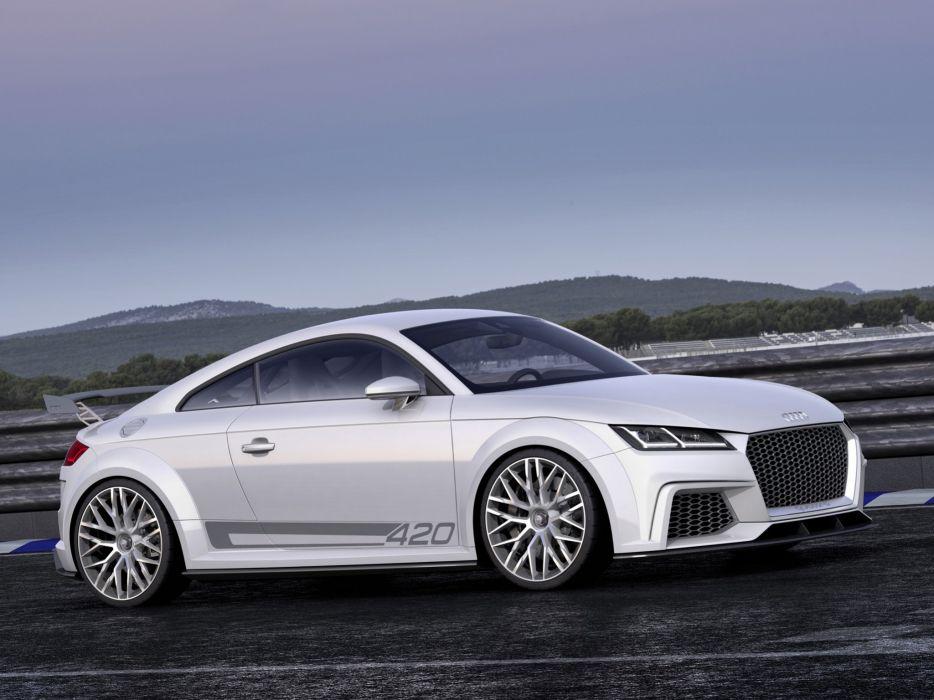 2015 Audi T-T quattro sport concept  w wallpaper