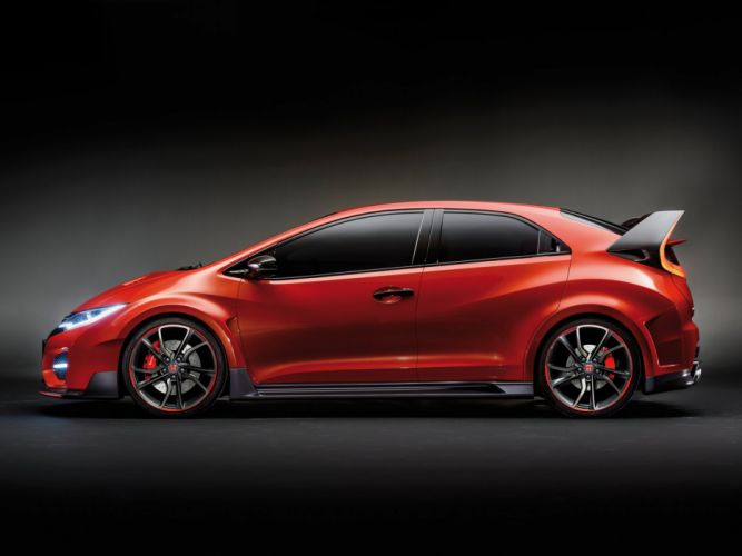 2015 Honda Civic Type-R Concept d wallpaper