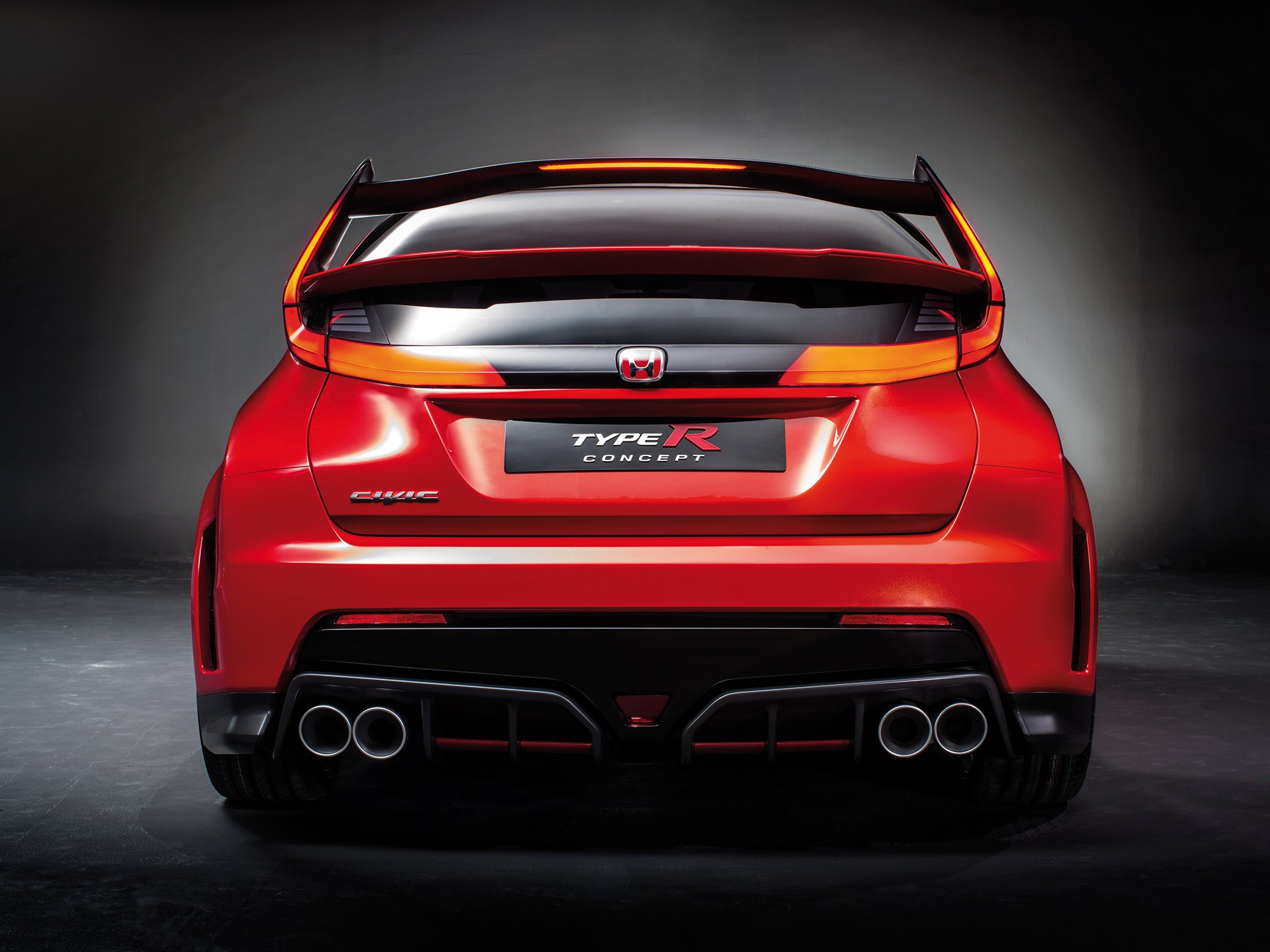 2015 Honda Civic Type-R Concept d wallpaper   2048x1536   287891   WallpaperUP