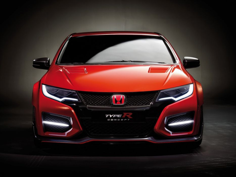2015 Honda Civic Type-R Concept  cc wallpaper