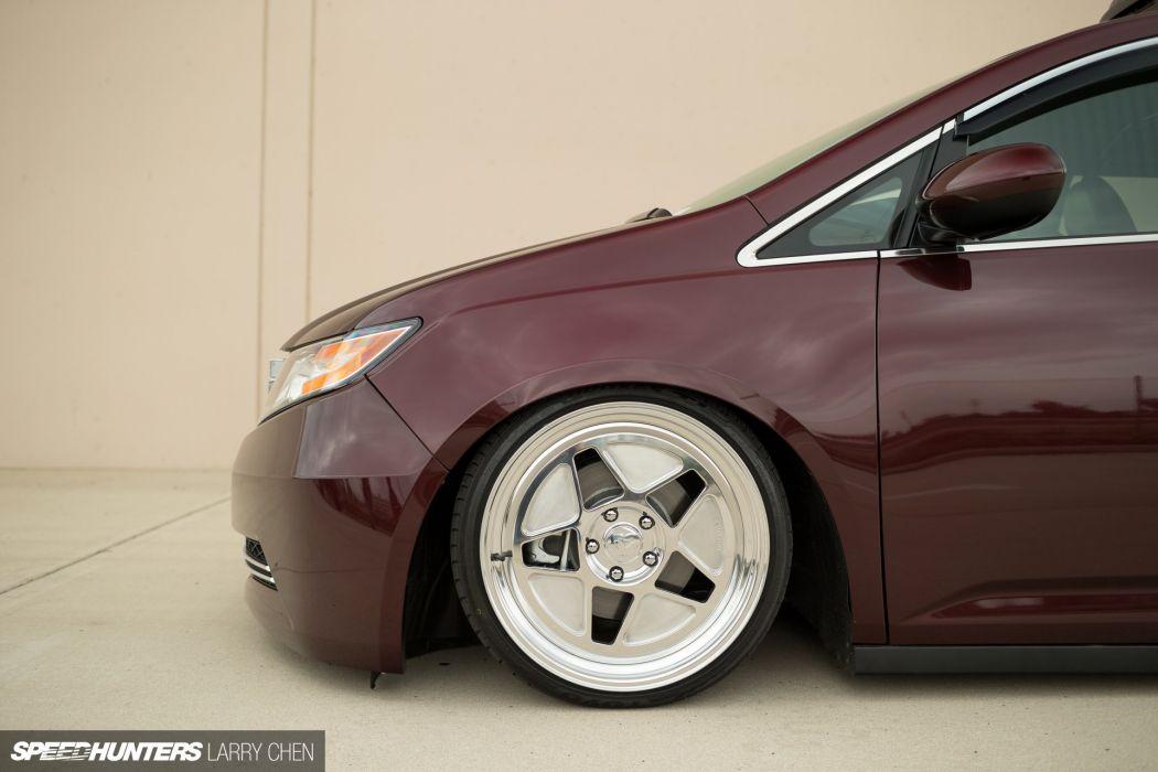 Honda Odyssey minivan van hot rod rods tuning lowrider 1000HP wheel  f wallpaper