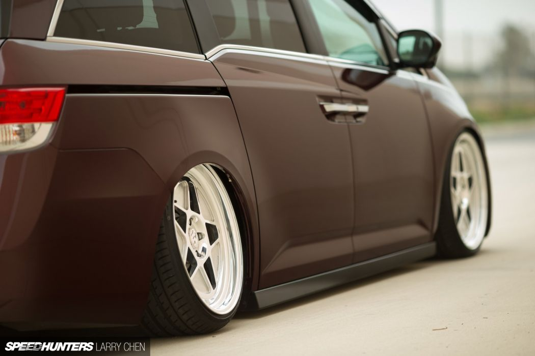 Honda Odyssey Minivan Van Hot Rod Rods Tuning Lowrider 1000HP Wheel Gh Wallpaper