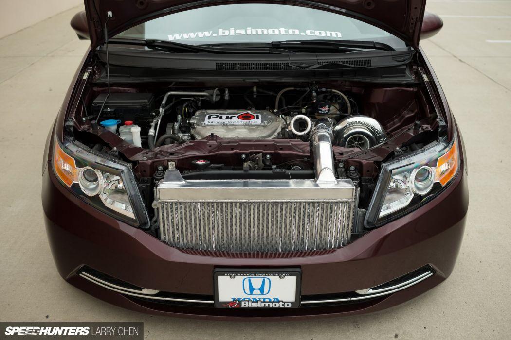 Honda Odyssey minivan van hot rod rods tuning lowrider 1000HP engine  g wallpaper