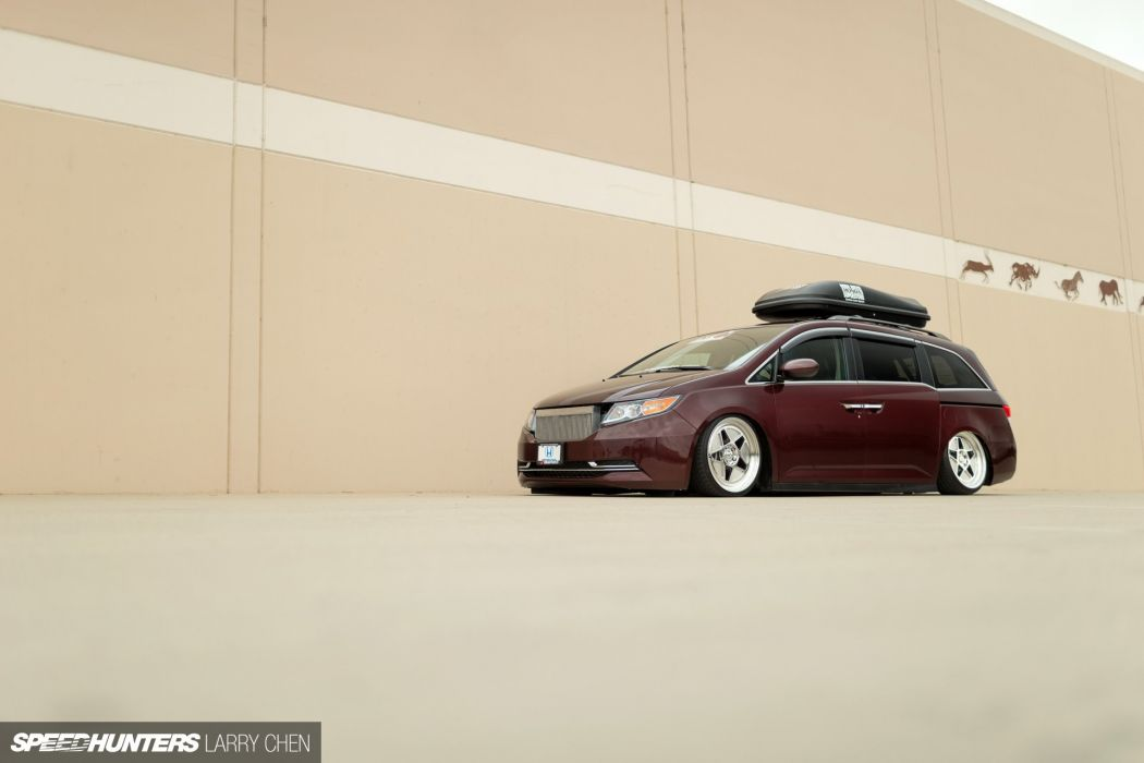 Honda Odyssey minivan van hot rod rods tuning lowrider 1000HP     h wallpaper