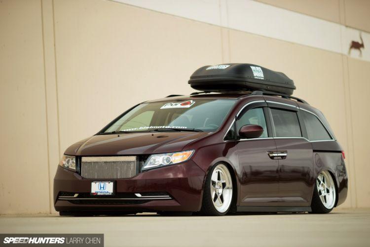 Honda Odyssey minivan van hot rod rods tuning lowrider 1000HP j wallpaper