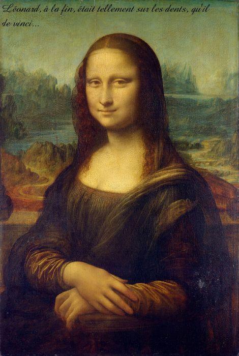 Mona Lisa ___de travers_ wallpaper