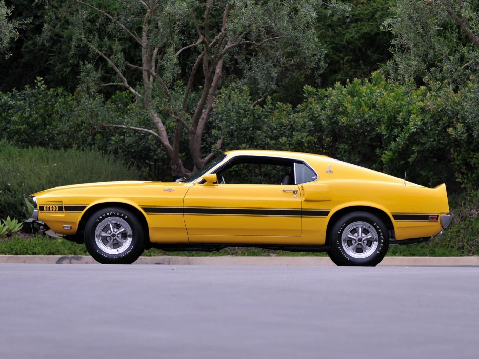 1969 Shelby GT500 ford mustang muscle classic  g wallpaper