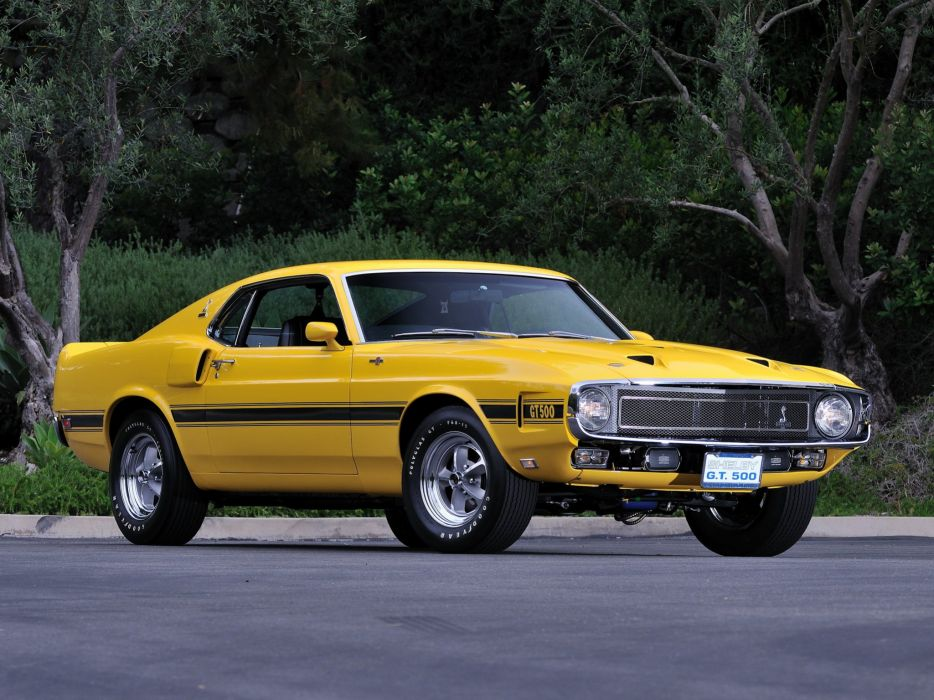 1969 Shelby GT500 ford mustang muscle classic       f wallpaper