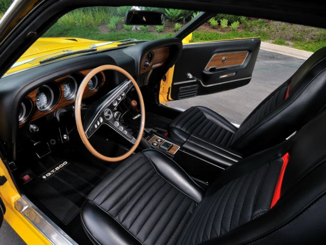 1969 Shelby GT500 ford mustang muscle classic interior g wallpaper