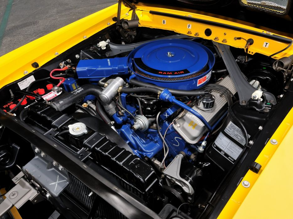 1969 Shelby GT500 ford mustang muscle classic engine    f wallpaper