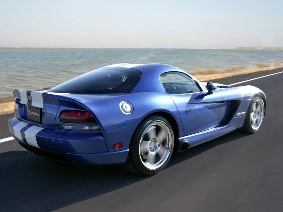 2006 Dodge Viper SRT10 Coupe supercar muscle    h wallpaper