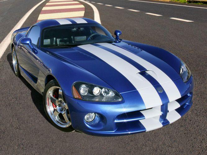 2006 Dodge Viper SRT10 Coupe supercar muscle e wallpaper