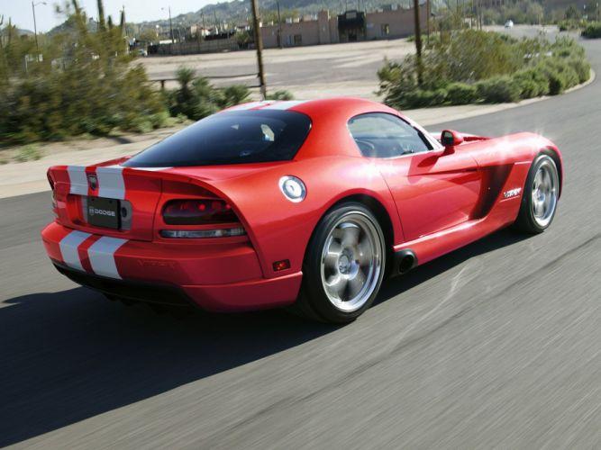 2006 Dodge Viper SRT10 Coupe supercar muscle ed wallpaper