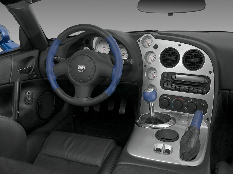 2006 Dodge Viper SRT10 Coupe supercar muscle interior   f wallpaper