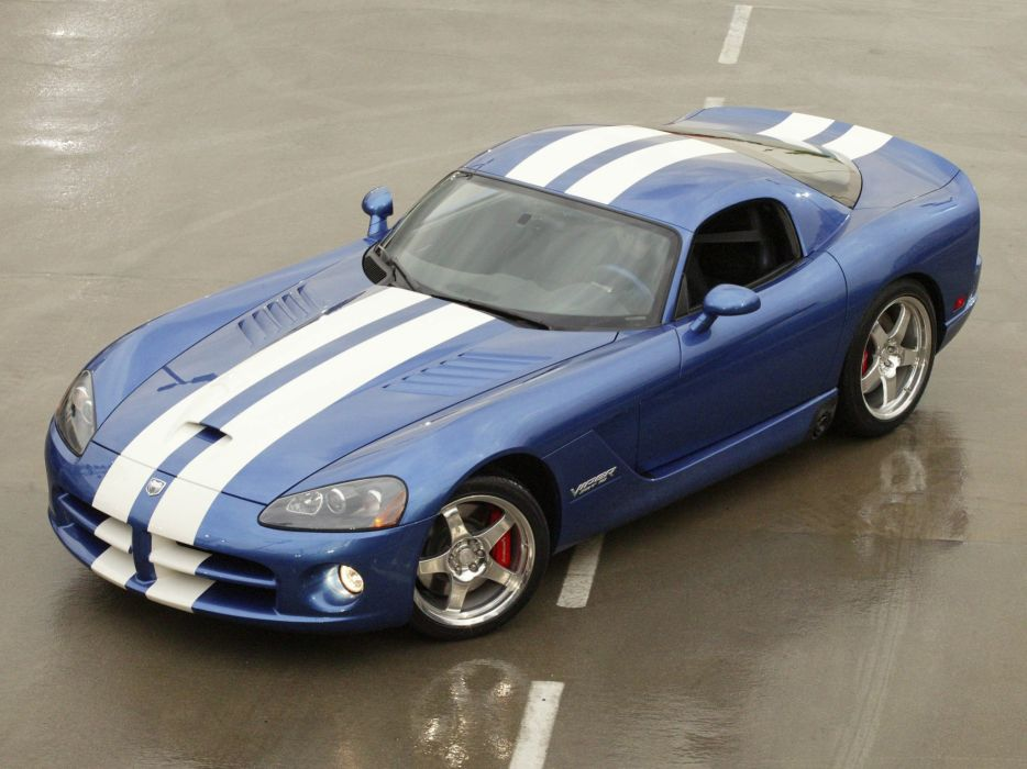 2006 Dodge Viper SRT10 Coupe supercar muscle   f wallpaper