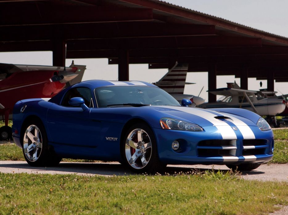 2006 Dodge Viper SRT10 Coupe supercar muscle  fs wallpaper