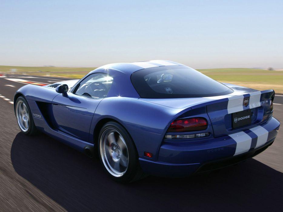2006 Dodge Viper SRT10 Coupe supercar muscle m wallpaper