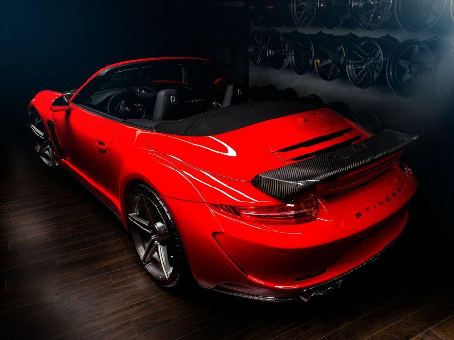 2014 TopCar Porsche 911 Carrera Stinger Cabriolet 991 supercar  f wallpaper