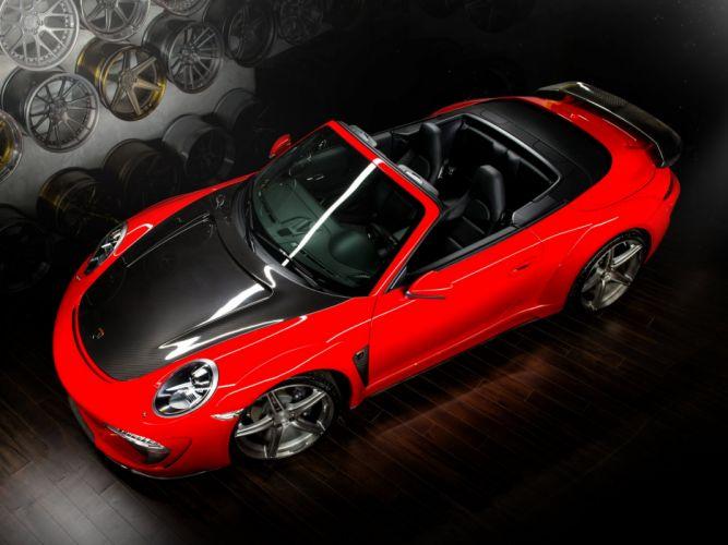2014 TopCar Porsche 911 Carrera Stinger Cabriolet 991 supercar g wallpaper